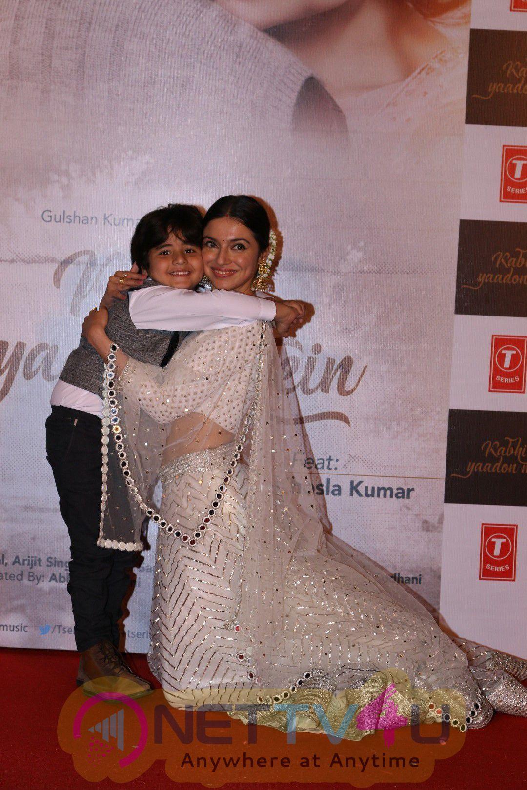 Sridevi At Song Launch Kabhi Yaadon Mein With Divya Khosla Kumar Stills