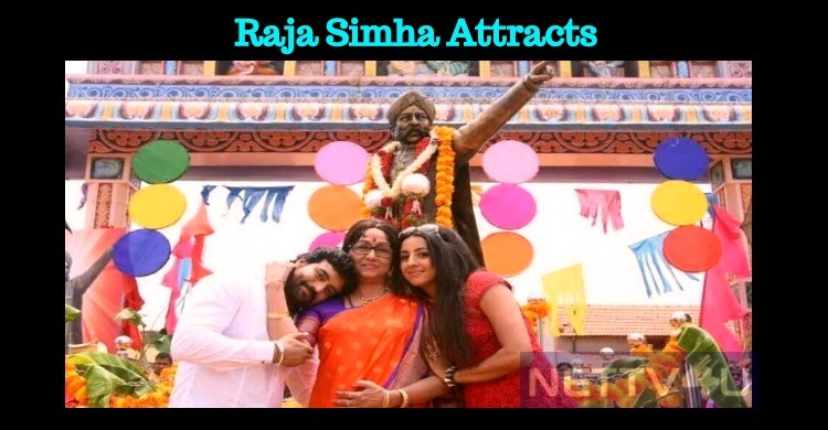 Raja Simha Gets Appreciation From Vishnuvardhan Fans!