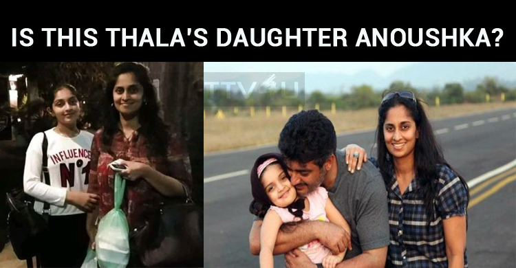 Is This Thala's Daughter Anoushka?