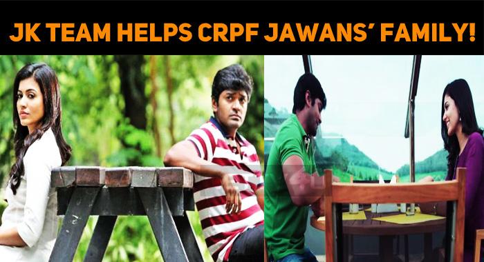 July Kaatril Team Donates A Lump Sum To CRPF Jawans' Family!