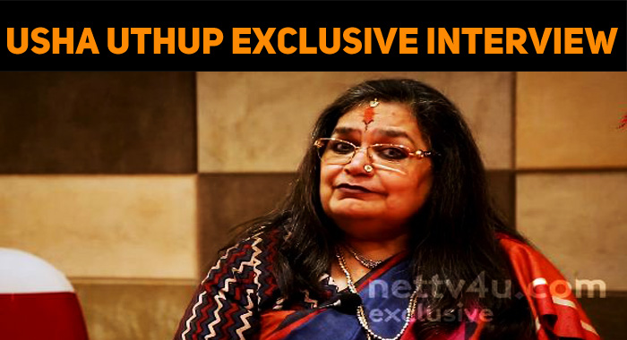 Usha Uthup Opens Up About Her Dressing Style!