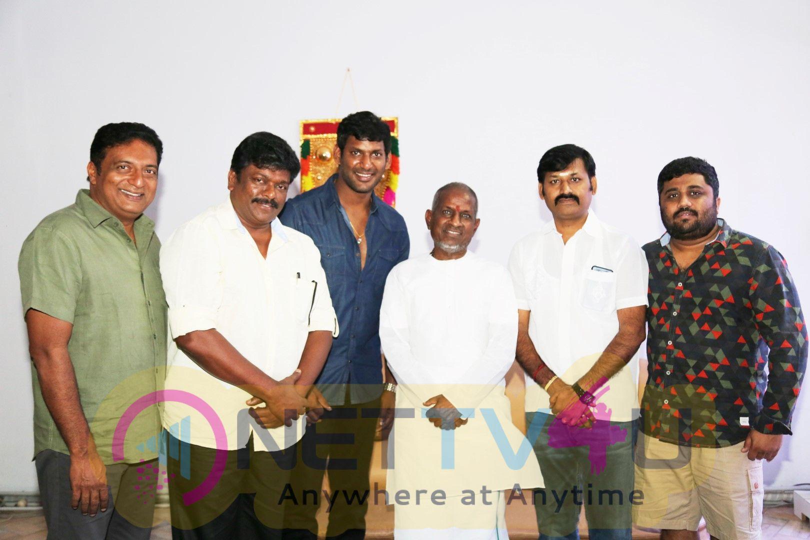 Tamil Film Producer Council Office Bearers Meet Isainan Ilayaraja Photos Tamil Gallery