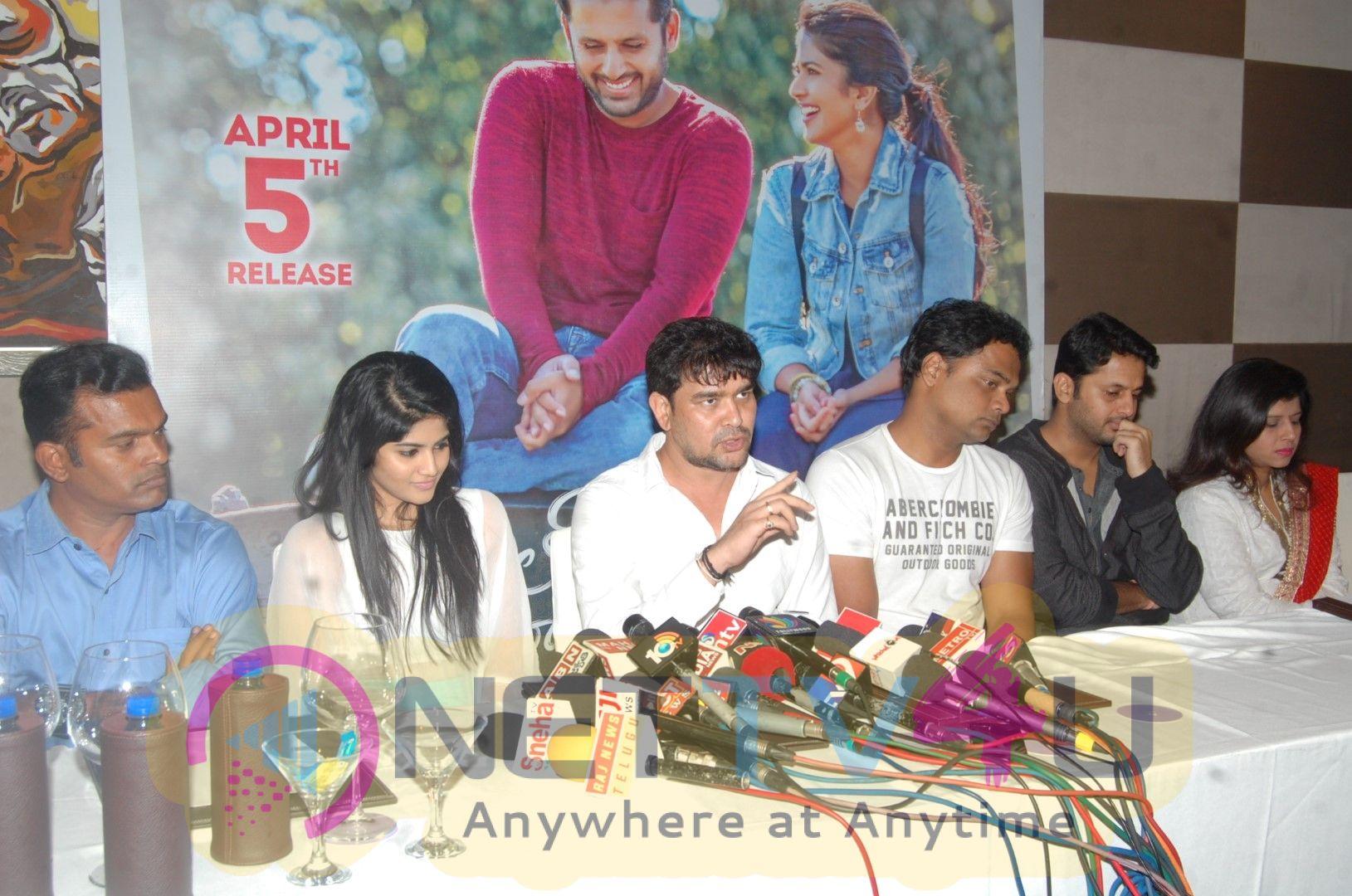 Chal Mohan Ranga Pre Release Tour Press Meet At Novotel Vizag Pics