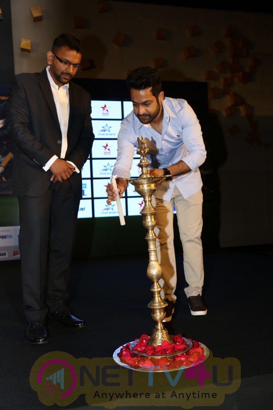 Jr.N.T.R Brand Ambassador Of Vivo Ipl 2018 Stills  Telugu Gallery