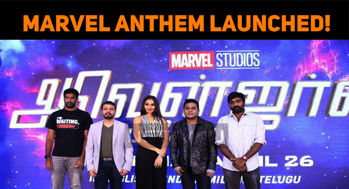 Avengers Endgame Marvel Anthem Launched!