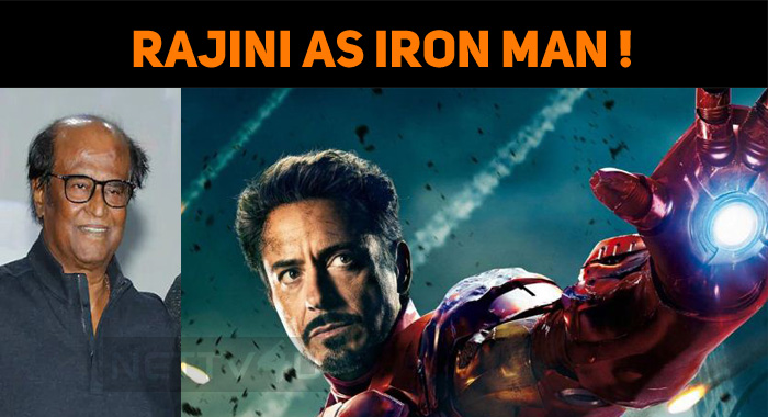 Rajini As Iron Man And Salman As Hulk!