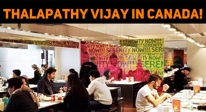 Thalapathy Vijay In Canada!