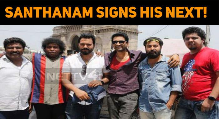 Santhanam Signs His Next!