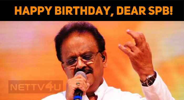 Happy Birthday, The Legendary SPB!