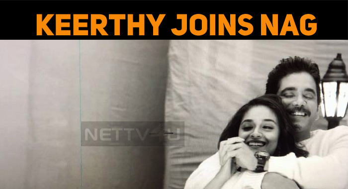 Keerthy Joins Manmadhudu 2!