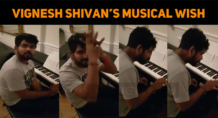 Vignesh Shivan's Musical Birthday Wish!