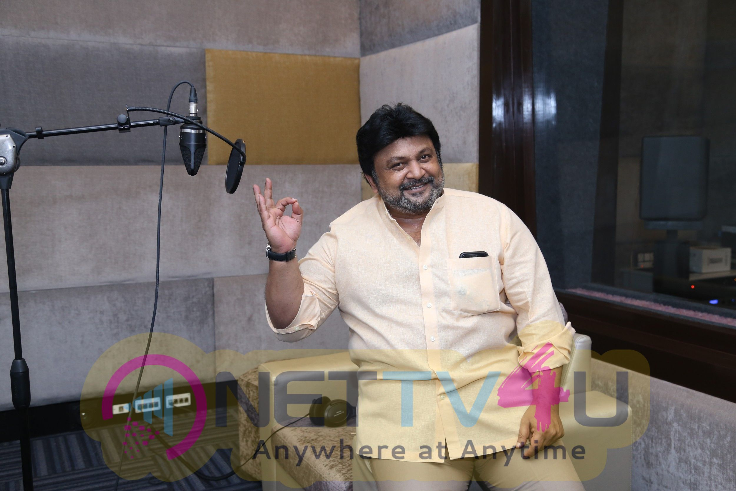 Actor Prabhu At Lissy Lakshmi Dubbing Studios Photos
