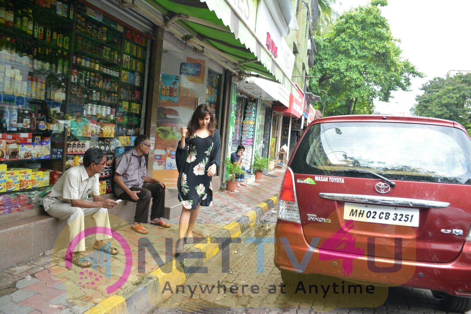 Neha Sharma Spotted At Bandra Beautiful Images