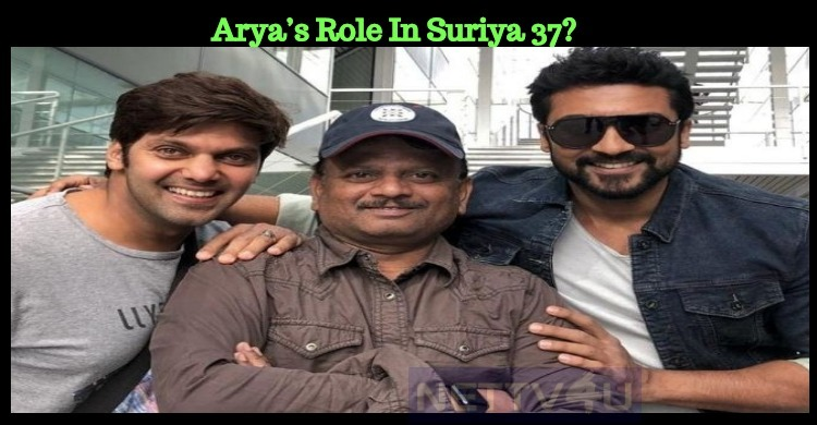 What Will Be Arya's Role In Suriya 37?