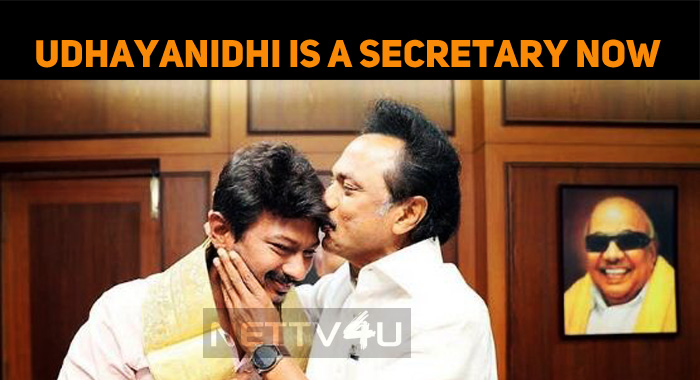 Finally… Udhayanidhi Stalin Gets A Posting In DMK!
