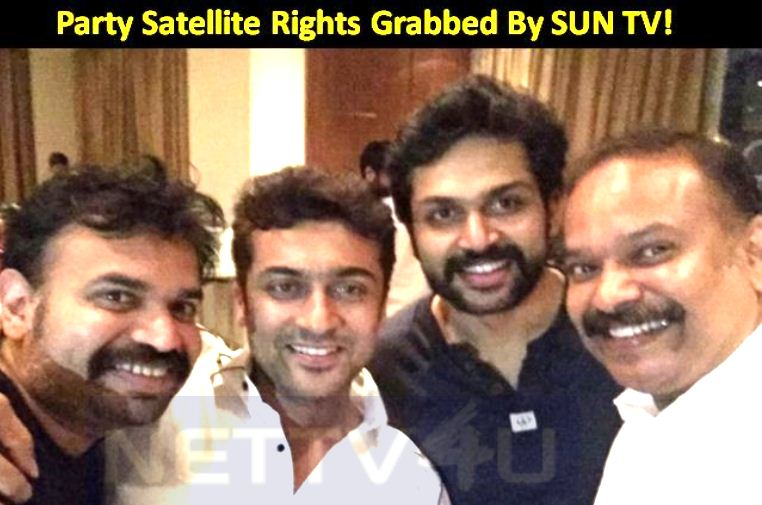 Party Satellite Rights Grabbed By A Leading Channel!