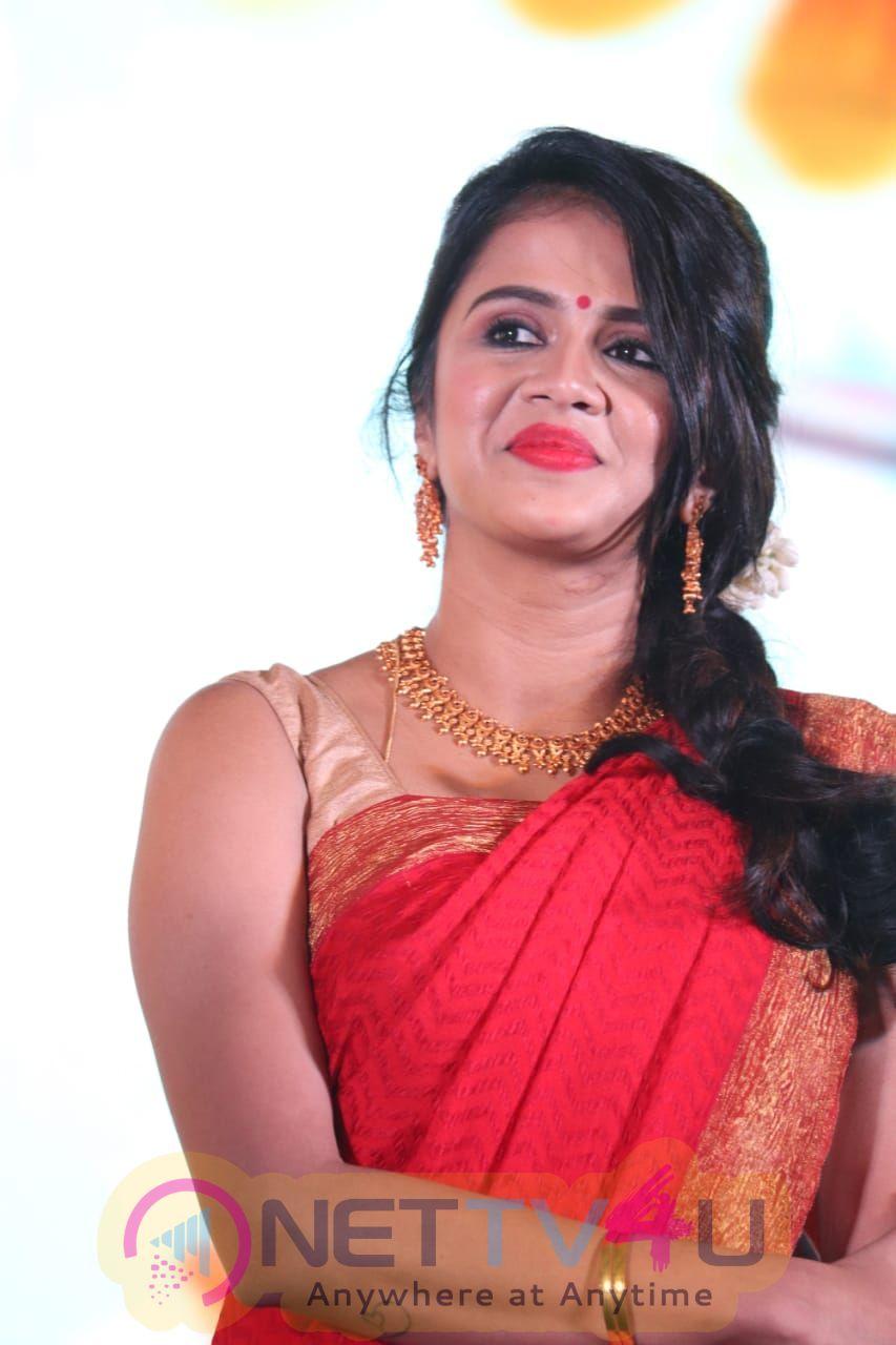 VJ Anjana Rangan Cute Images