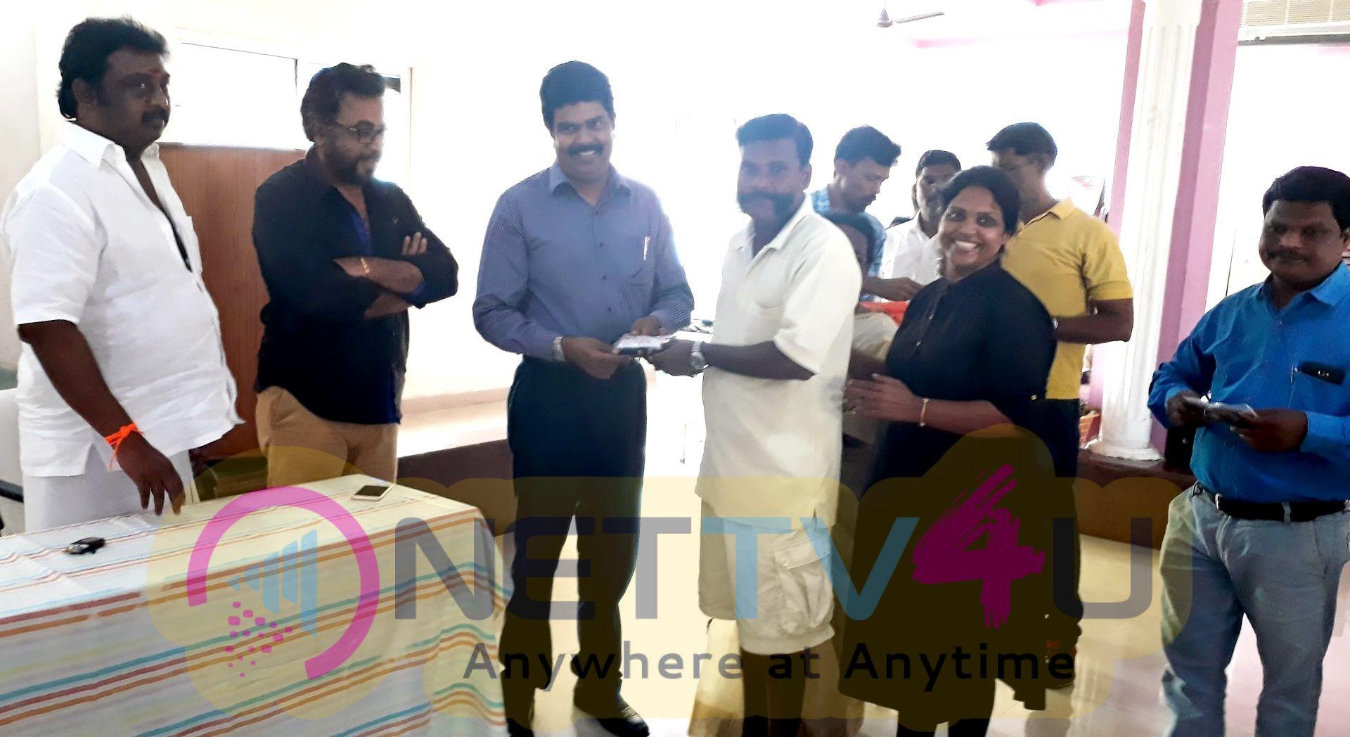 Dr.Vijay Shankar Son Of The Late Actor Jaishankar Conducted A Free Eye Screening Camp Pics