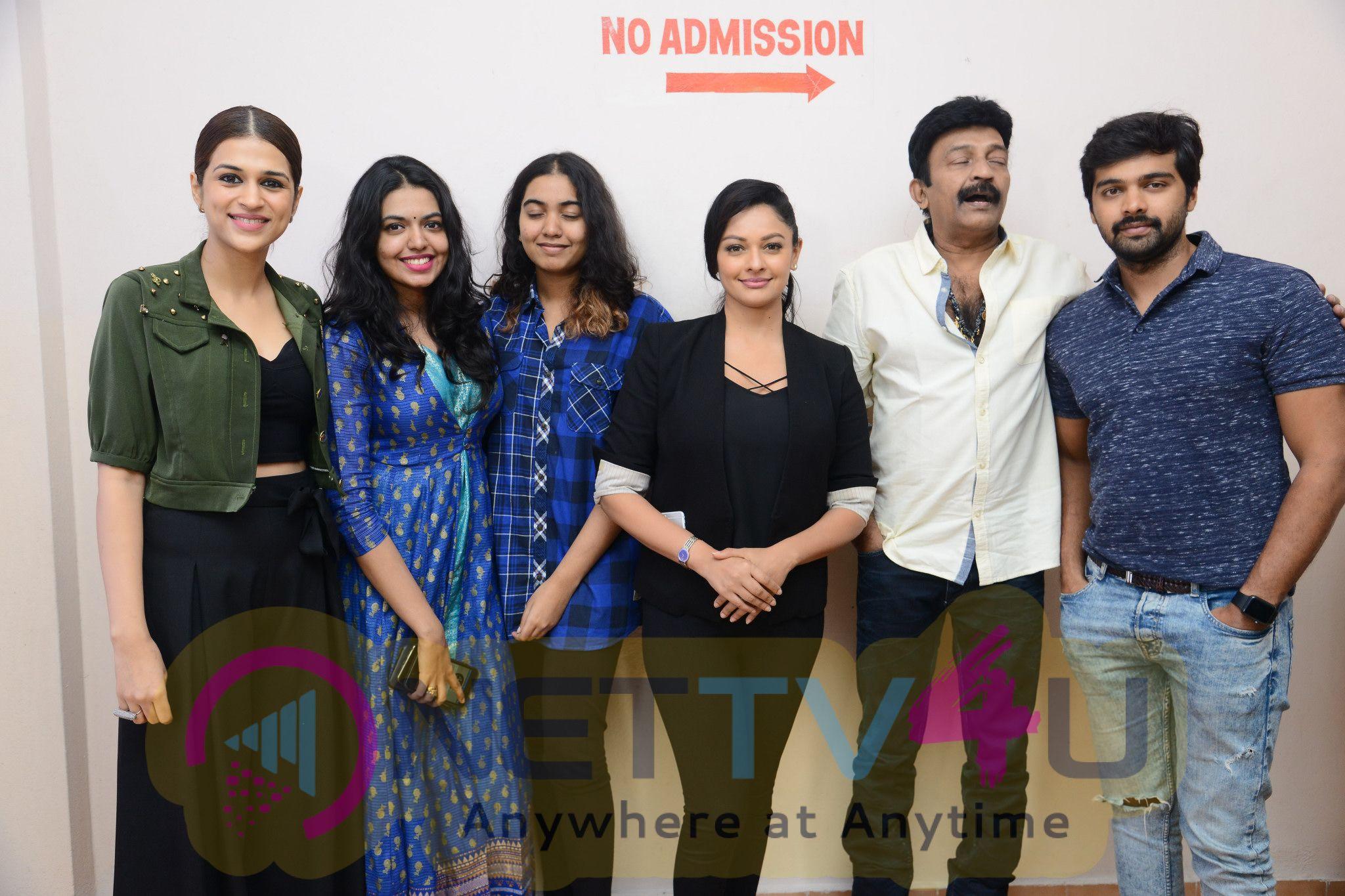 Garuda Vega Movie Team At Bramaramba Theater Photos