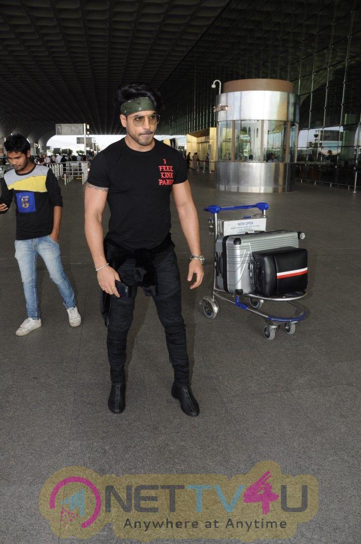 Gautam Gulati Spotted At Airport Stills