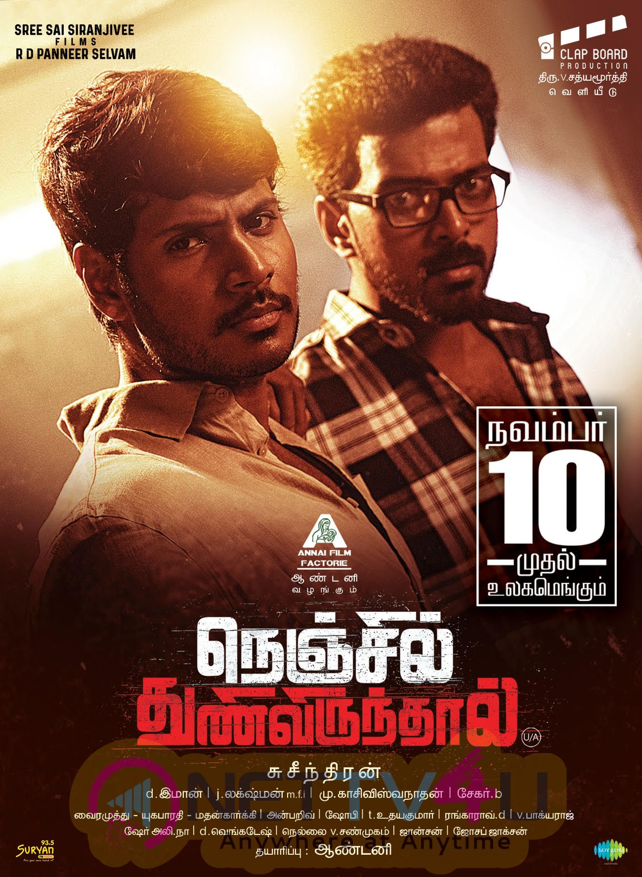 Nenjil Thunivirundhal Movie  Release Date Posters
