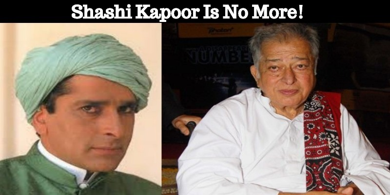 Veteran Bollywood Star Shashi Kapoor Is No More..
