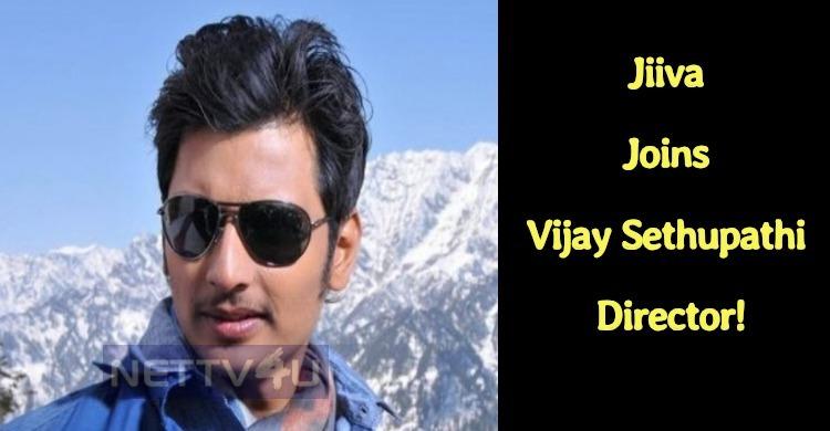 Jiiva Joins Vijay Sethupathi Director!