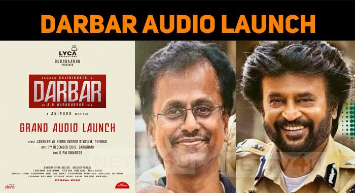 Darbar Audio Launch On 7th December!