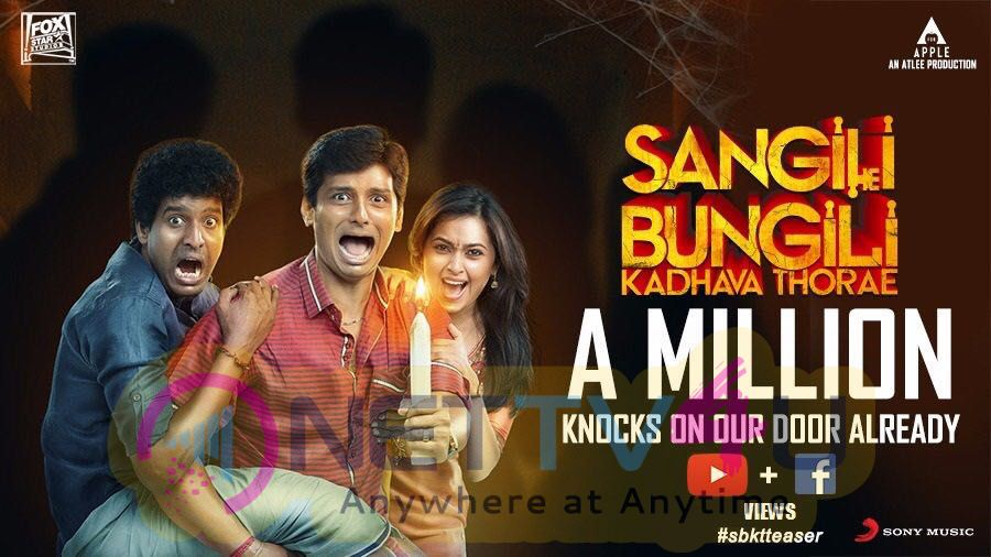 One Million Views In Less Than A Day For Sangili Bungili Kadhava Thorae Teaser