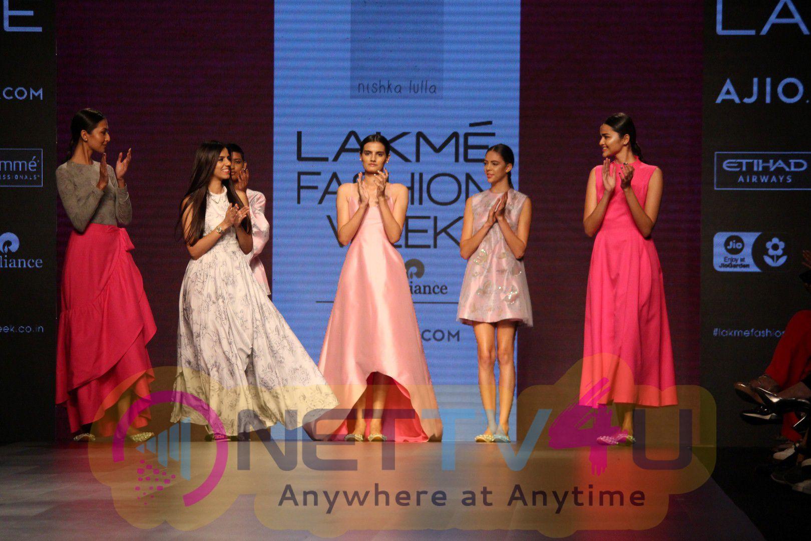 Stunning Photos Of Fashion Designer Nisha Lulla Walked On Lakme Fashion Week
