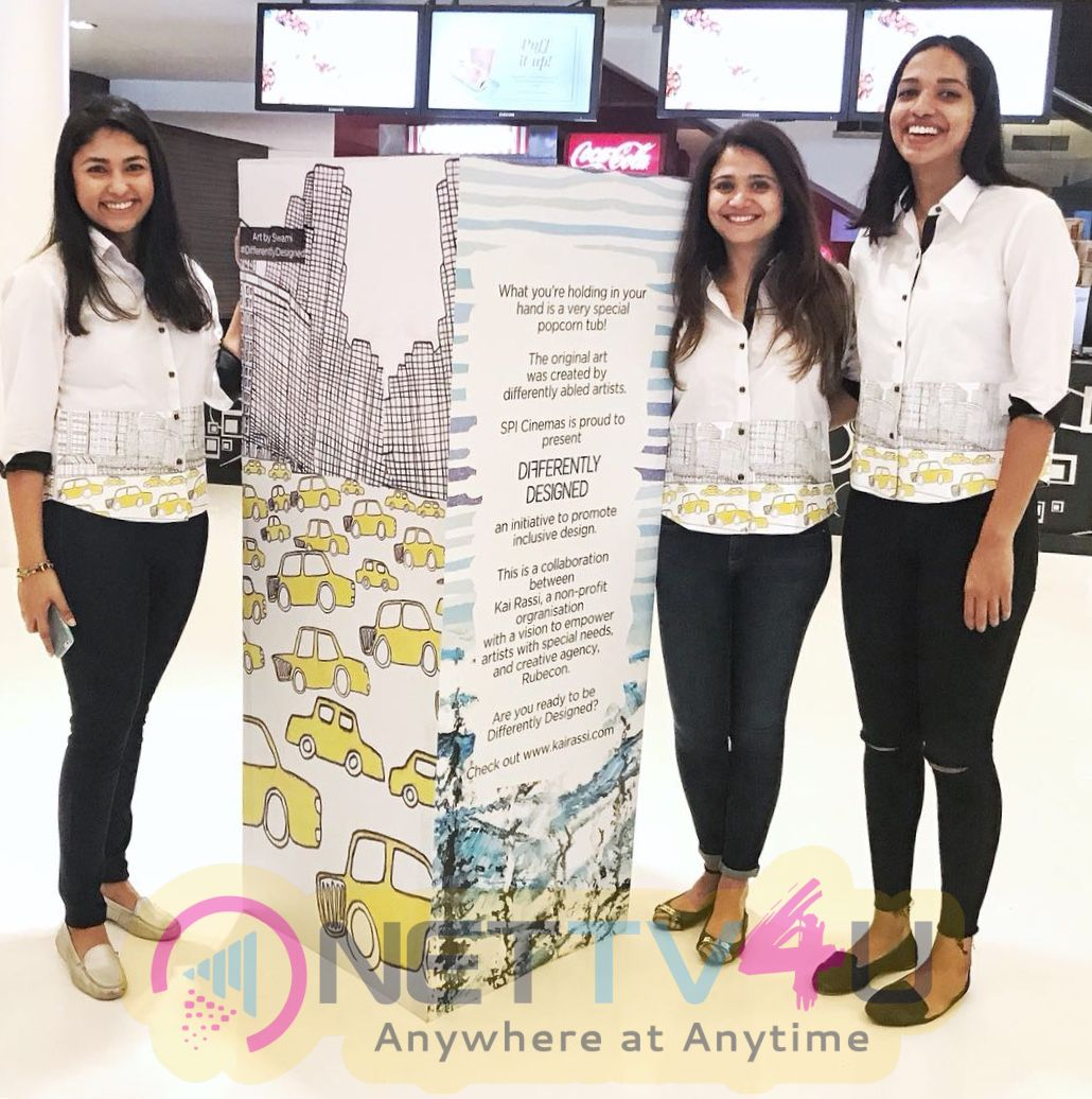 SPI Cinemas Presents Differently Designed An Inclusive Design Initiative By Kai Rassi And Rubecon Pics Tamil Gallery