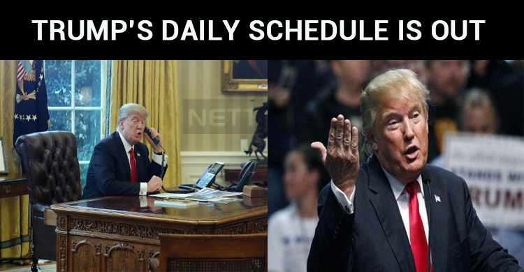 Donald Trump Spends His Time In Phone Calls And Social Networking!