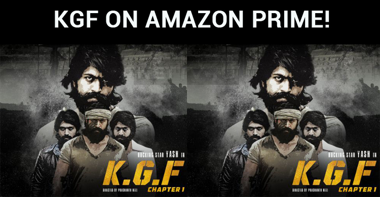 KGF On Amazon Prime!
