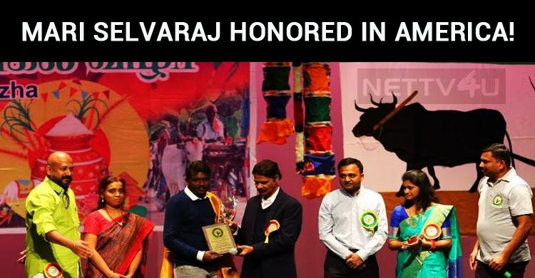 Mari Selvaraj Honored In America!