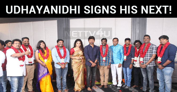 Udhayanidhi Signs His Next!