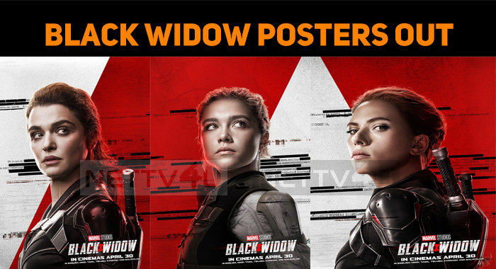 Black Widow Posters Out! Iron Man Makes A Speci..