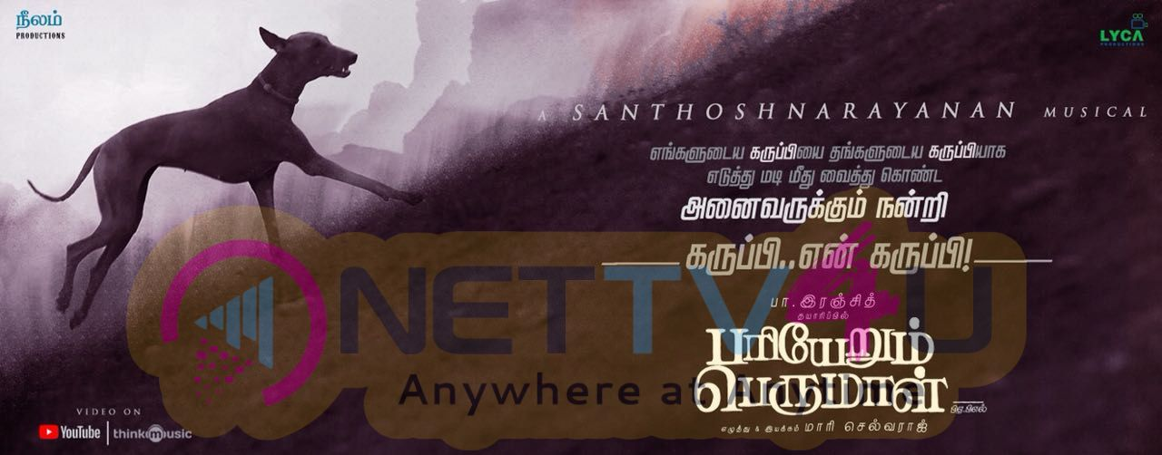 Pariyerum Perumal Movie Poster