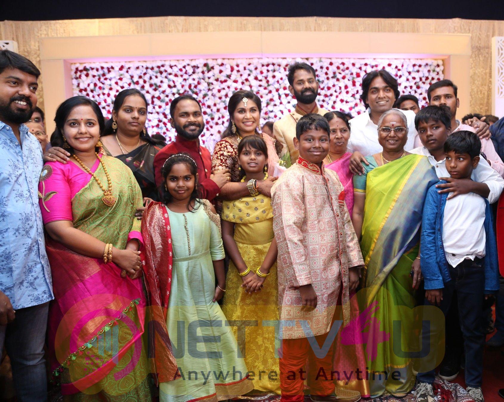 Ramesh Thilak - Navalakshmi Wedding Reception Stills