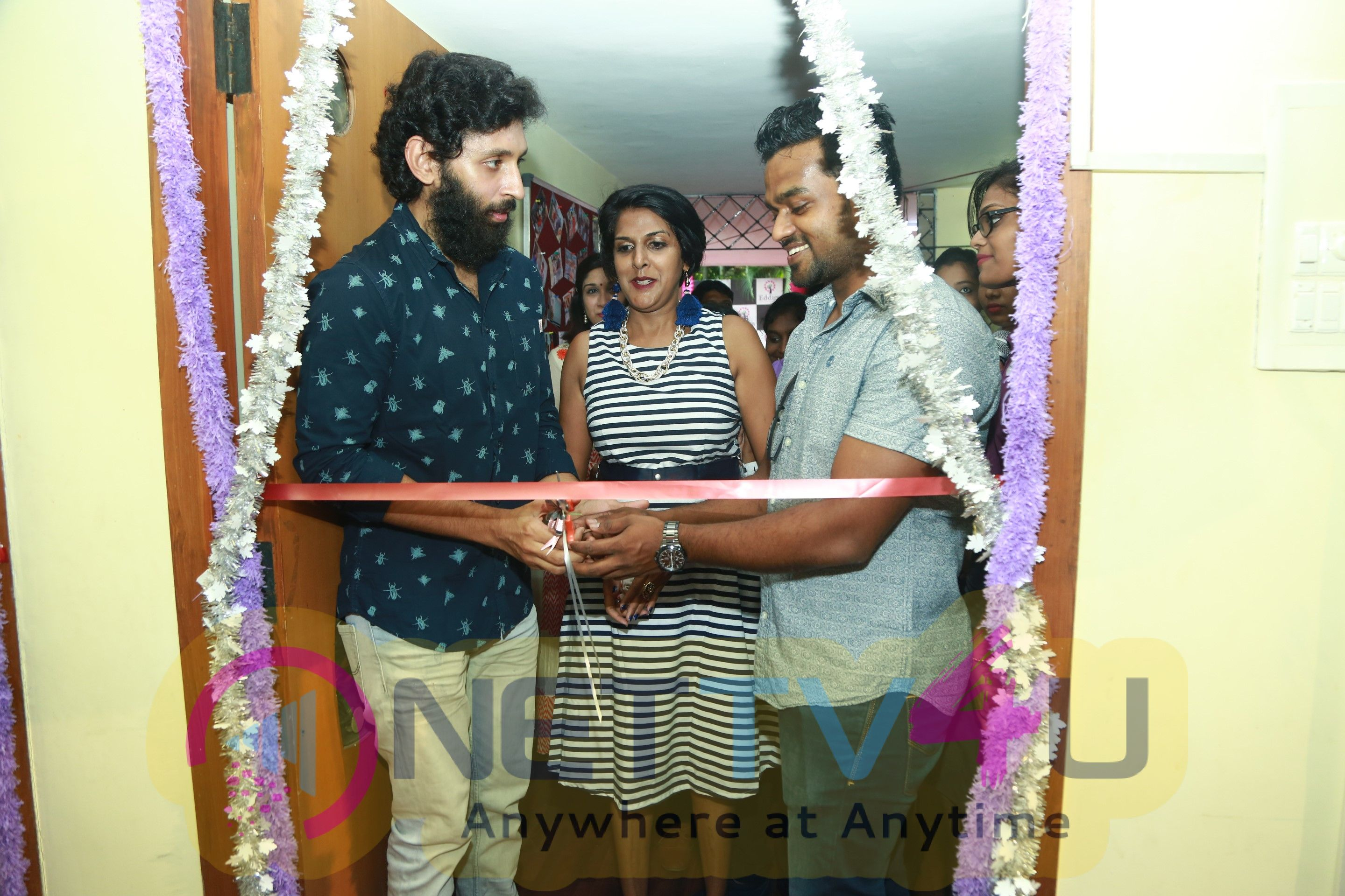 Actor Vasanth Ravi And RJ Giri Giri Of Big FM Launched Eddica Overseas Education & Training Institute Pics Tamil Gallery