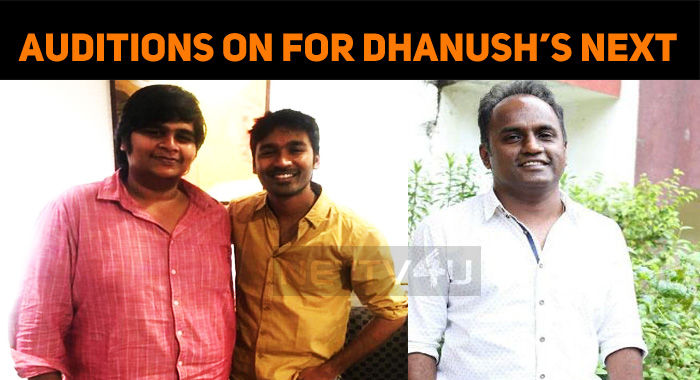 Auditions Held For Dhanush – Karthik Subbaraj Project!