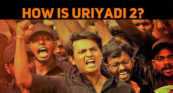 Did Vijay Kumar Gain Appreciation For Uriyadi 2?