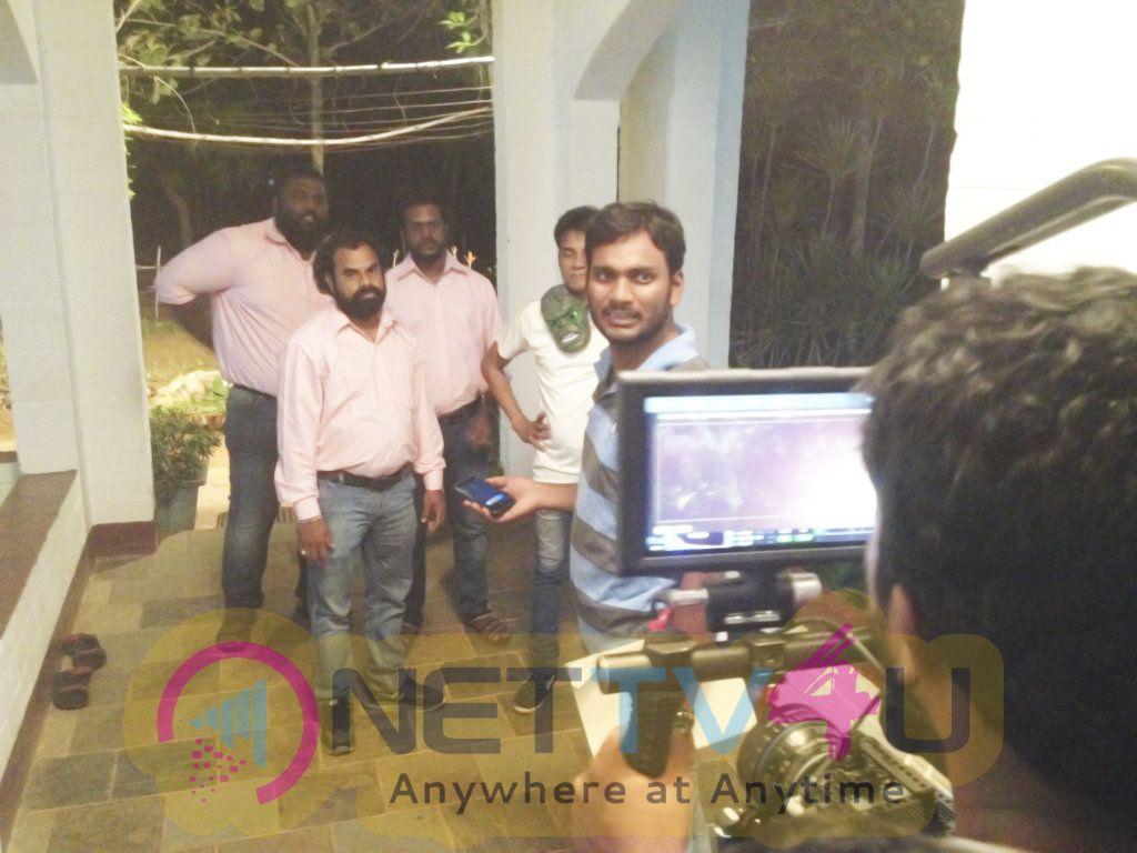 Bodha Movie Working Stills