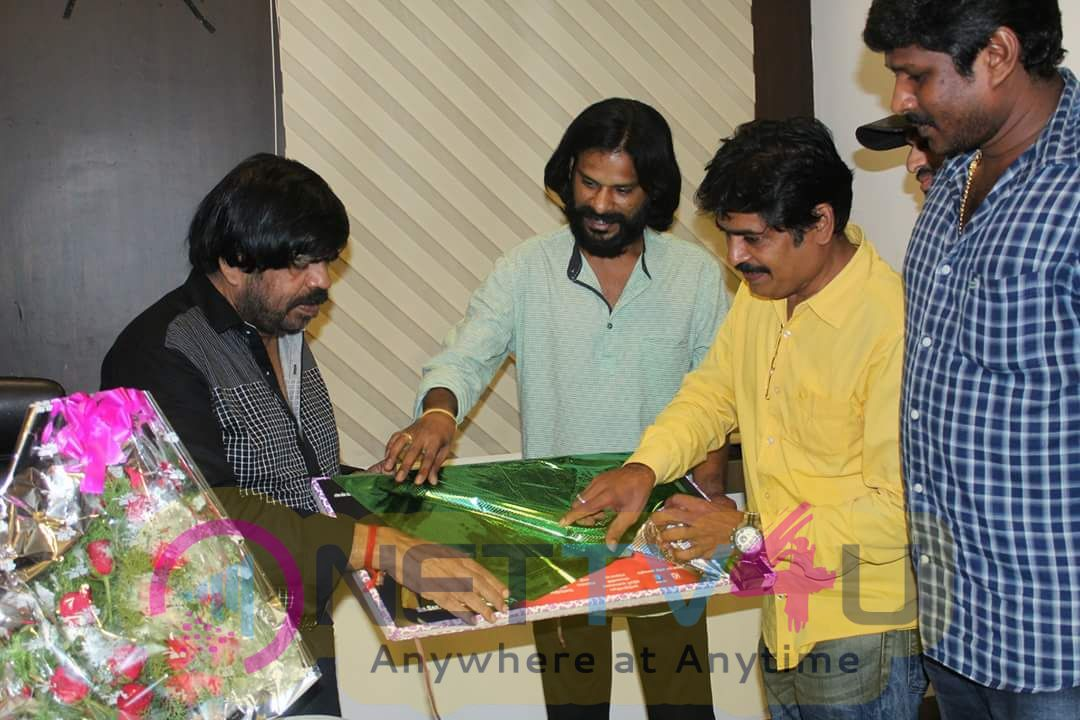 Kunthi Movie Trailer Launched By T Rajendar Stills