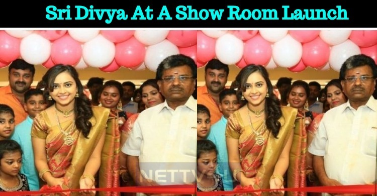 Sri Divya's Public Appearance After A Long Time!