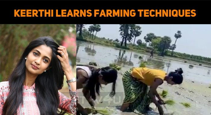 Keerthi Learns Techniques In Farming!