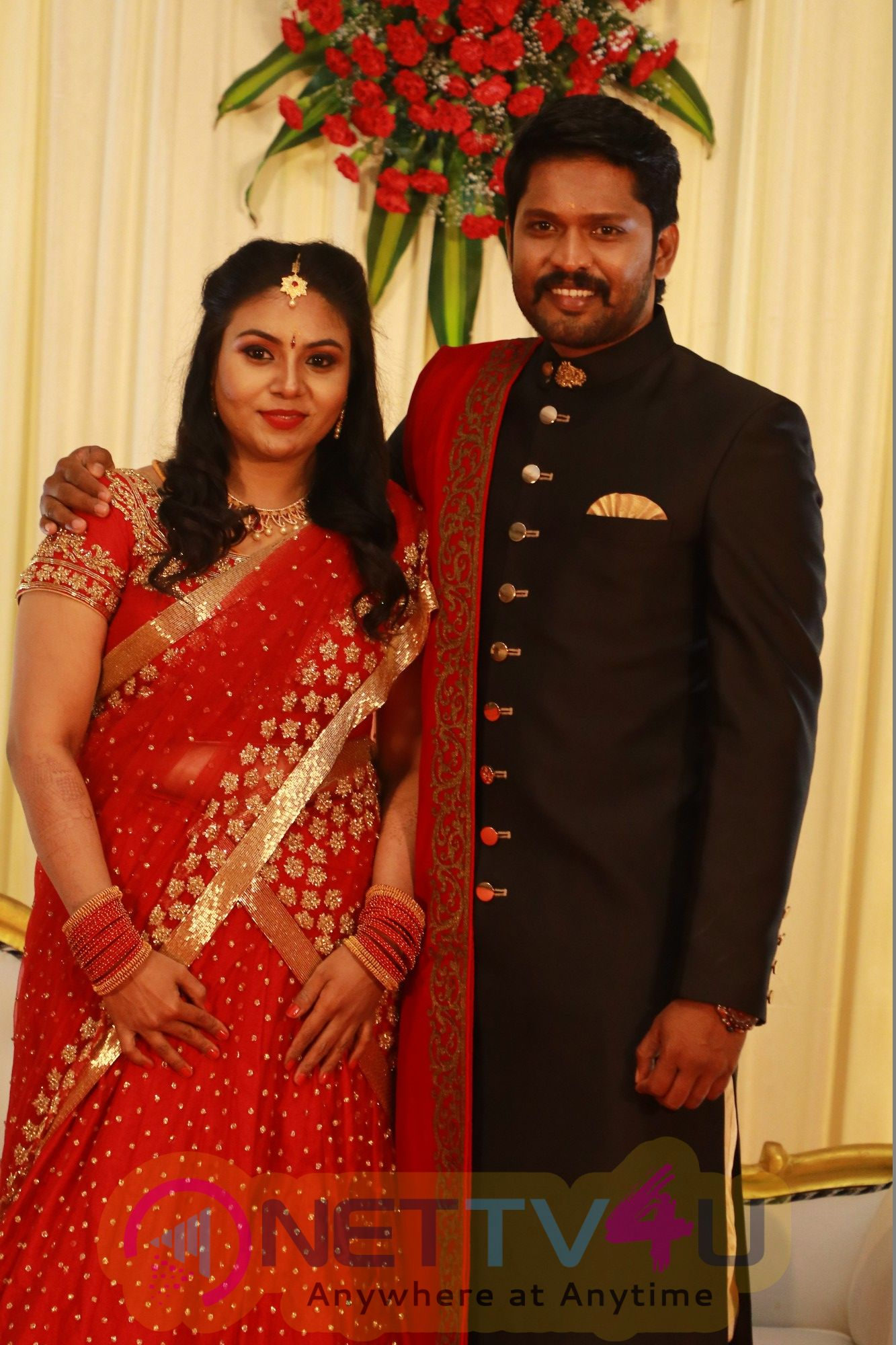 Actor Soundararajan Wedding Reception Stills