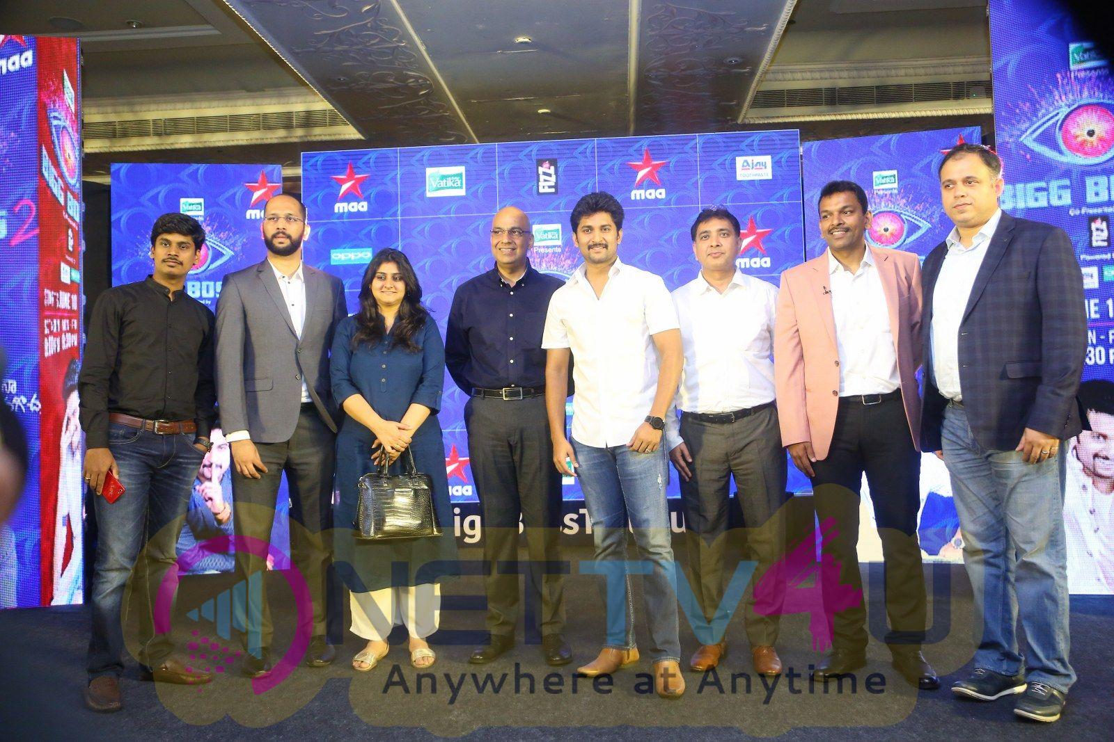 Big Boss 2 Press Meet Pics Telugu Gallery