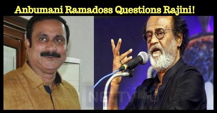 Kaala Tickets Sold For Rs. 2000? Anbumani Ramadoss Questions Rajini!