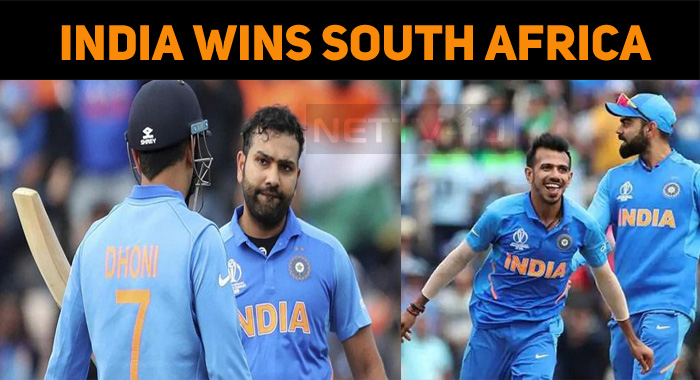 India Wins The Match Against South Africa! Good..