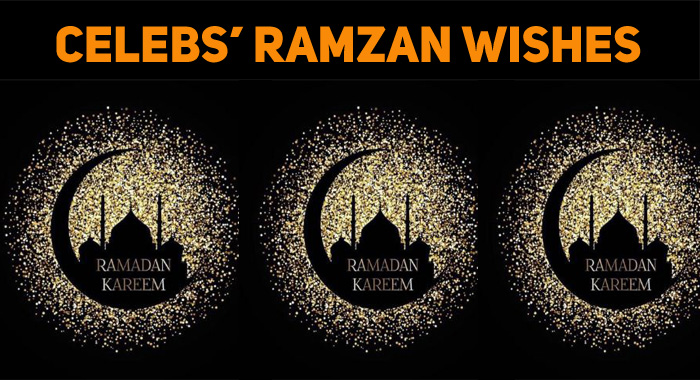 Ramzan Wishes From Celebs Flood The Social Medi..